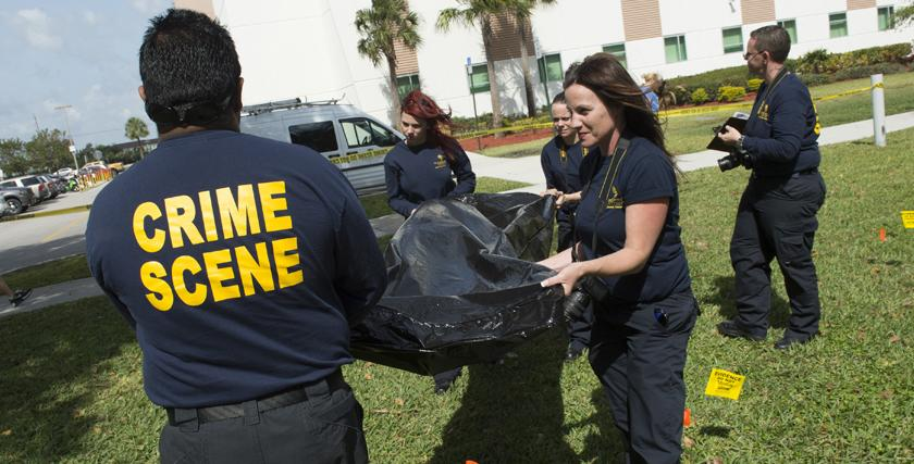 Crime Scene Technology