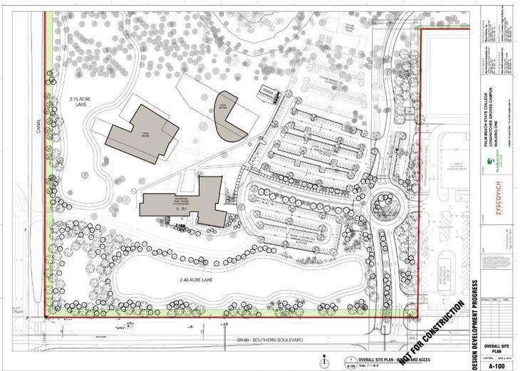 Phase I - Detail Master Site 3-Building Plan