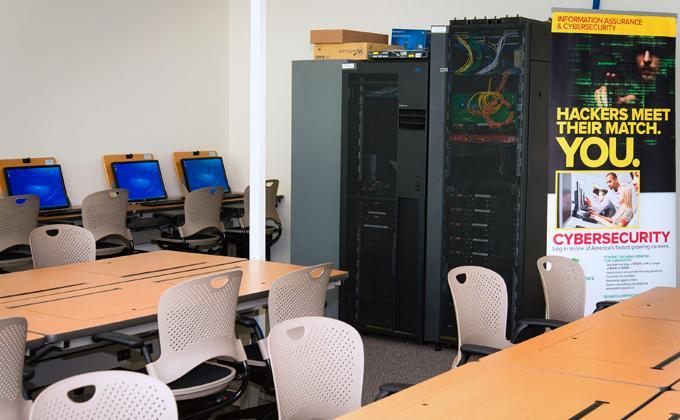 Cybersecurity Lab at Palm Beach State College