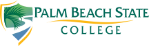 College logo link back to Palm Beach State home page