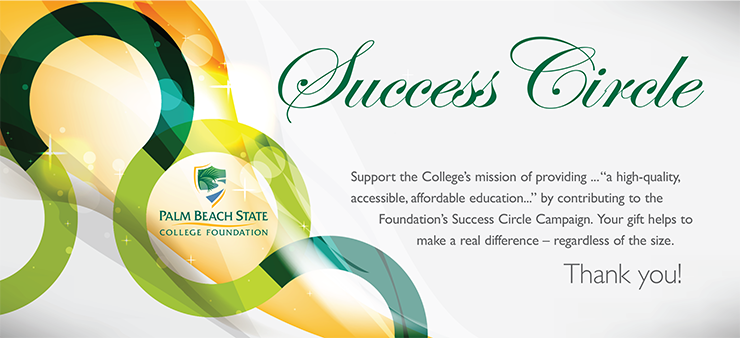 Success Circle - Please log in to support the college's mission.