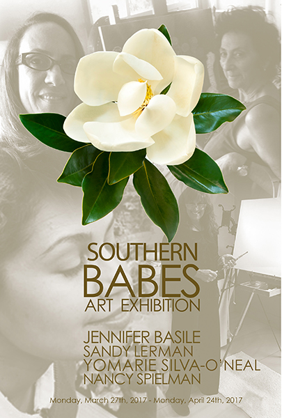 invitation for Southern Babes: Women Artists in South Florida