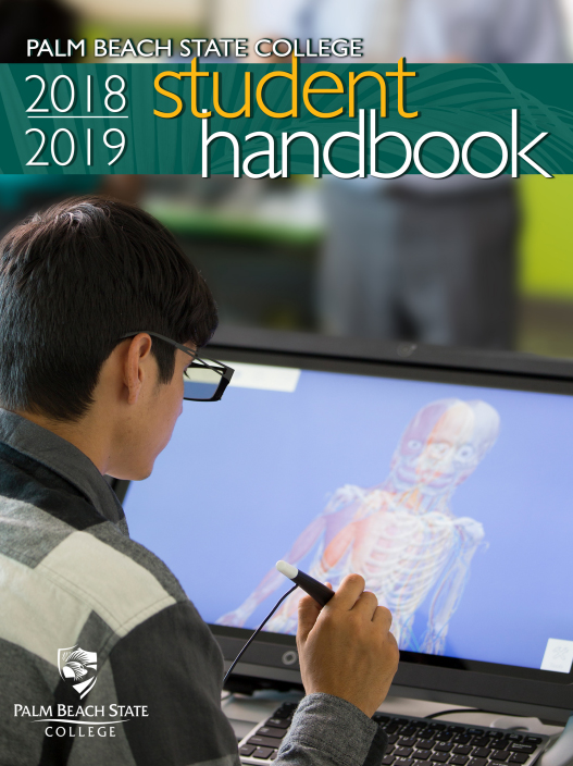 student handbook cover image