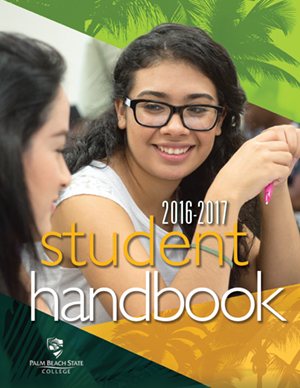 student handbook image to click on
