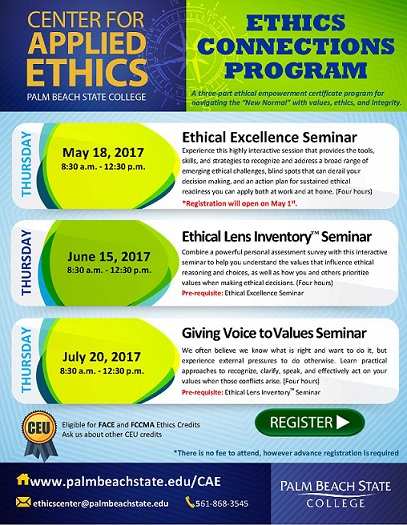 Ethics Connections Program