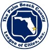 Palm Beach County League of Cities logo