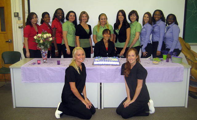 Celebrating Dental Assistants Recognition Week by being honored at a luncheon.