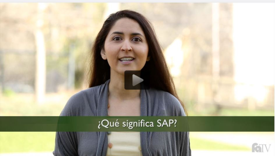 What does S.A.P. stand for? Explained in Spanish.