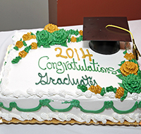 Bachelor's Graduate Reception