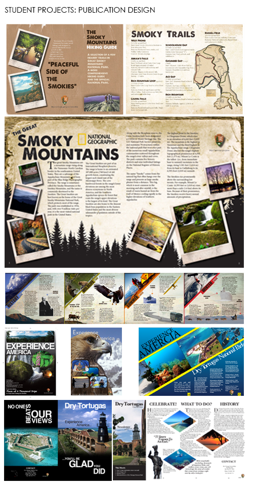 Student Projects: Publication design
