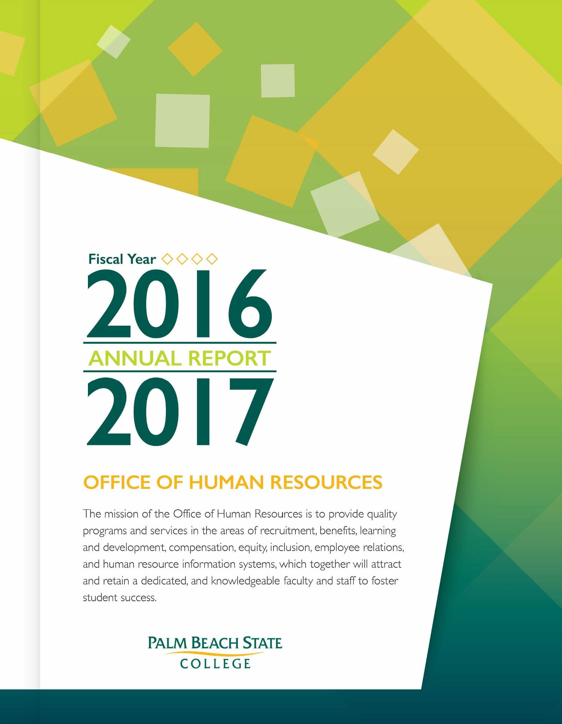 FY 2016/2017 Annual Report