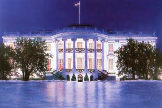 White House at Holidays