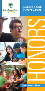 Honors College brochure cover