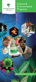 Science and Environmental brochure cover