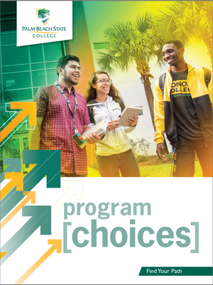 PBSC Program Choices pocket folder cover