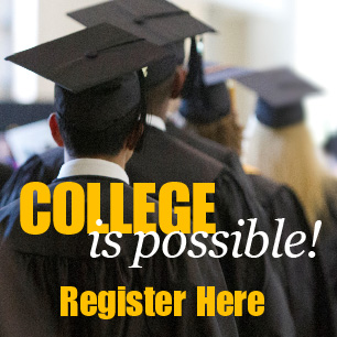 Register for College is Possible Event
