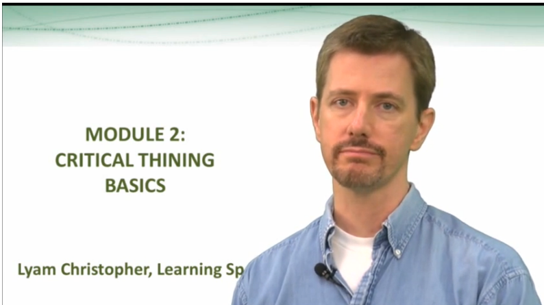 Thumbnail for Module 2: Critical Thinking Basics