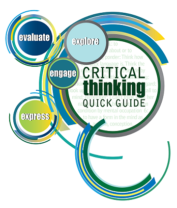 Critical Thinking Quick Guide - Evaluate, Explore, Engage, Express