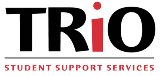 student support services trio logo in black and red