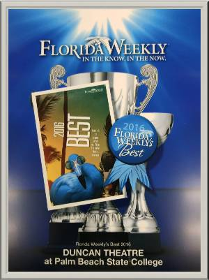 Florida Weekly 2016 Award