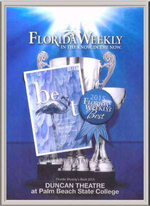 Florida Weekly 2015 Award