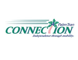 Palm Tran Connection 561-649-9838 or 1-877-870-9849
