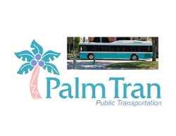 Palm Tran Public Transportation 561-841-4287 or 877-930-4287