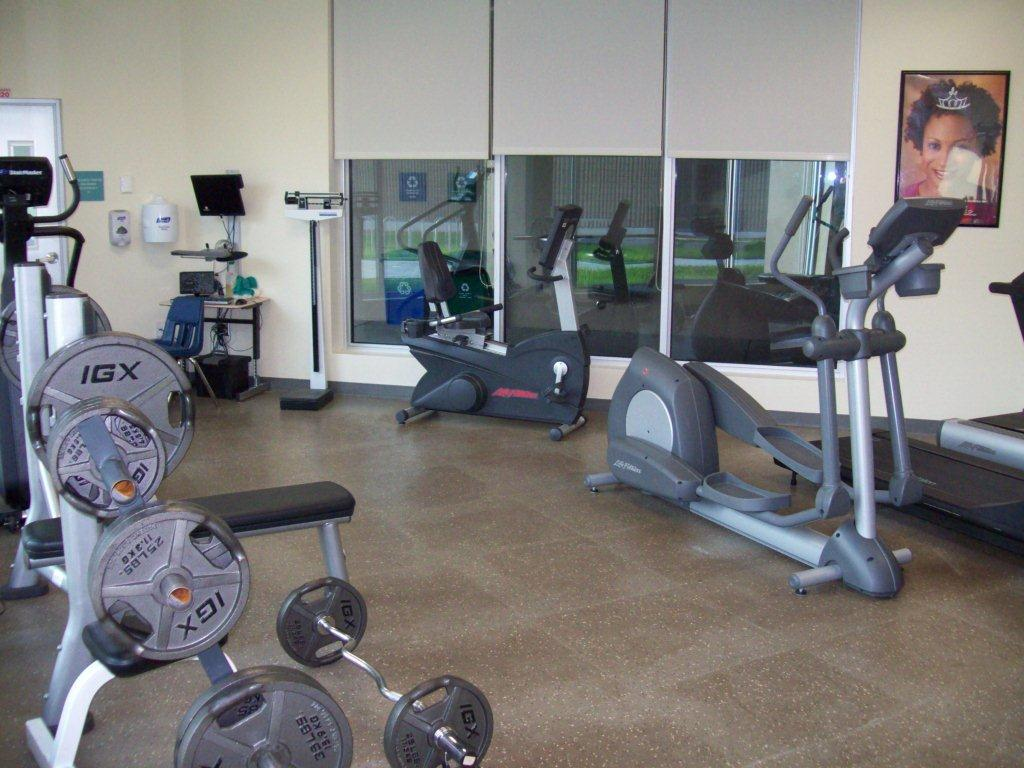 Weights and Cardio equipment