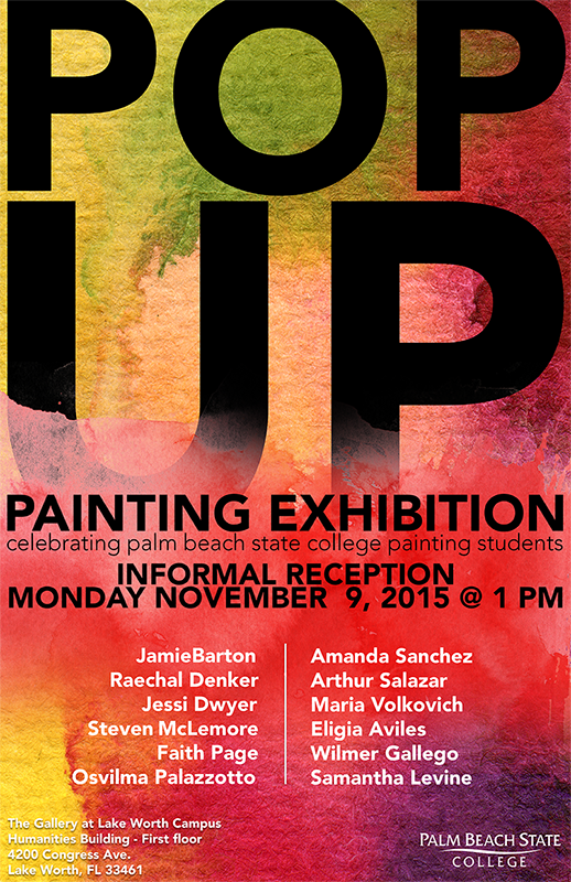 Pop Up Painting Exhibition