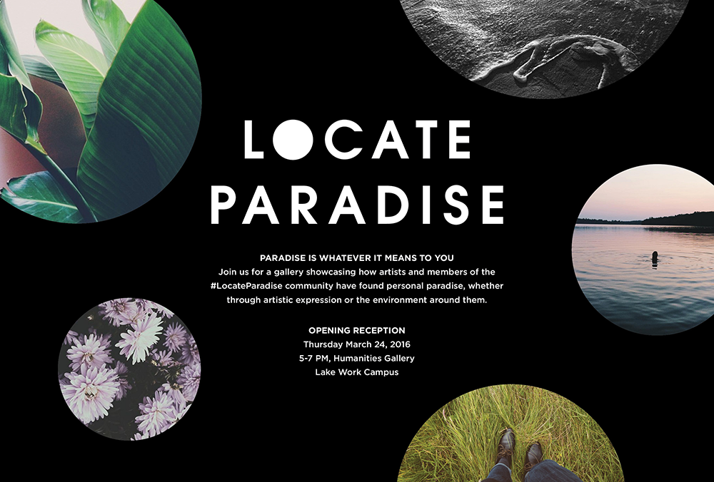 Locate Paradise: Graphic Design exhibition