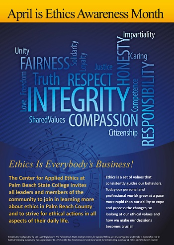 March is Ethics Awareness Month