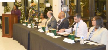 Group panel speakers at the Glades Economic Development Forum
