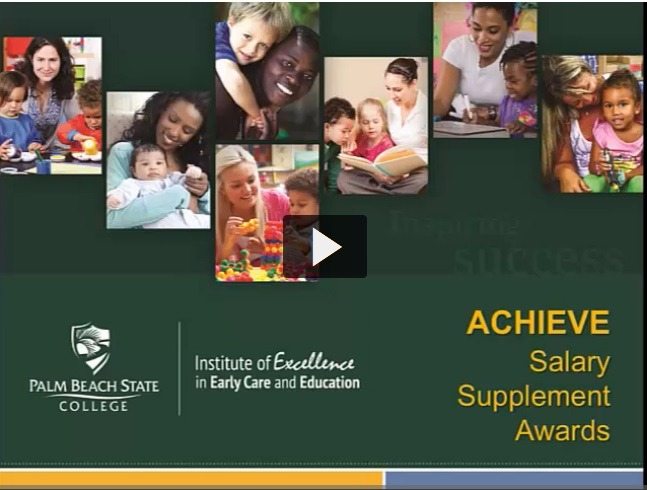 Video of the Achieve Salary Supplement Awards